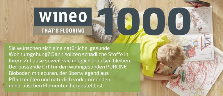 Wineo 1000 PURline Bioboden Kollektion