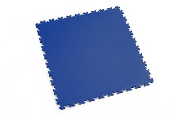 Profilor Light PVC Klick-Fliesen Blue Leder/glatt,...