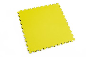 Profilor Light PVC Klick-Fliesen Yellow Leder/glatt,...