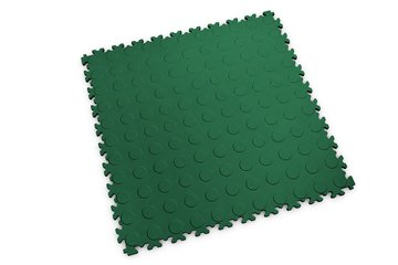 Profilor Light PVC Klick-Fliesen Green Flitter/Noppe...